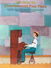 LESJOIES DU DIVERDISSEMENT POUR PIANO PAR D. AGAY