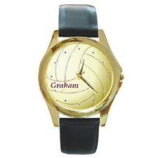Orologio da polso con Palla VOLLEYBALL personalizzati *** qualsiasi nome *** OTTIMO ARTICOLO DA REGALO ***