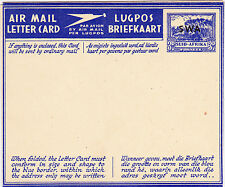 South West Africa: S.W.A. overprint on Suid-Afrika airletter -1946 -MINT-HG#18