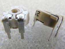 5 résistances ajustable cermet 250K Piher PTC10 trimpot