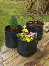 Pflanztasche, 3 Stck., 10 L,  Pflanzsack, Pflanzgefäß, grow bag, plant bag,