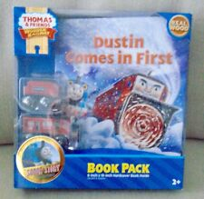 NEW  FISHER  PRICE  THOMAS  &  FRIENDS  DUSTIN  COMES  IN  FIRST  BOOK  PACK