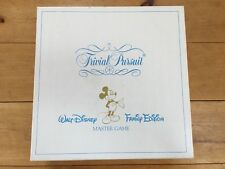 Trivial Pursuit Walt Disney Family Edition Master Game 100% Complete