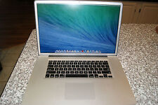 HI RES ANTIGLARE MACBOOK PRO 17 3.6 GHZ i7 QUAD,16GB,2000GB HDD, APPLE WARRANTY