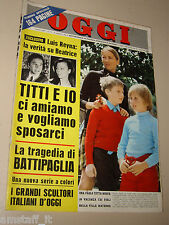 OGGI=1969/17=PAOLA RUFFO=RENZO PASOLINI=TORE CANU=ANNA MOFFO=AQUILONIA=ALAGNA=
