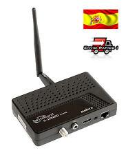 Receptor satélite HD SatIntegral S1224, rj-45, WiFi, 15 meses IKS, soporte CCCAM