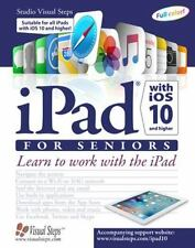 IPAD WITH IOS 10 AND FOR SENIORS - STUDIO VISUAL STEPS (COR) - NEW PAPERBACK BOO