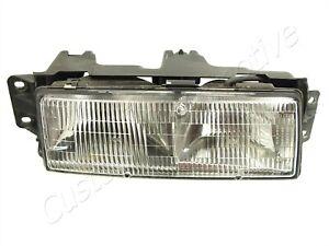 87-90 OLDSMOBILE CUTLASS CIERA CRUISER RH HEADLIGHT 16505636 passenger lamp