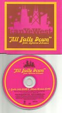 KANYE WEST w/ SYLEENA JOHNSON All Falls Down EDIT Europe PROMO DJ CD single