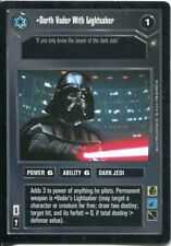 Star Wars CCG Enhanced Premier Darth Vader With Lightsaber