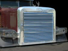 PETERBILT 388 389 STAINLESS LOUVER GRILLE INSERT LOUVERED GRILLE INSERT P-1061