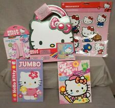 Lot of 6 Hello Kitty Bunny Charms Zipper Pull Backpack Clips Cartoon Characters