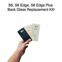 Samsung Galaxy S6 S6 EDGE S6 EDGE+ OEM Rear Back Glass Battery Door Replacement