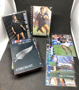 1995 Dynamic Marketing New Zealand All Blacks Complete 55 Card Trading Card Set
