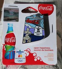 Day 12 Bottle AUTHENTIC Coca cola  Vancouver 2010  Olympic PIN NEW