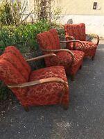 Art Deco /Easy /vintage /Mid Century Armchair, Lounge Halabala Form