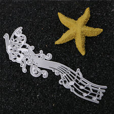Music Notes Dies Cutting Stencils Scrapbooking Album Paper Card Craft DIY