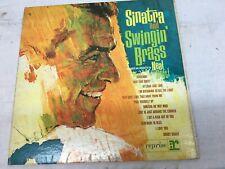 SINATRA  AND SWINGIN' BRASS- Frank Sinatra, Reprise 1962 Mono-Gatefold Very Good