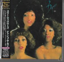 Three Degrees 3D CD JAPAN IMPORT OBI AUDIOPHILE NR MINT MINI LP 3 Disco