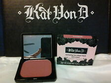 KAT VON D- EVERLASTING FACE SHAPER BLUSH *HEARTAGRAM*DEEP ROSE NIB HTF receipt