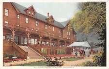 El Portal California Hotel Street View Detroit Pub Antique Postcard K60318