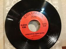 CLAUDE KING ~ BIRMINGHAM BUS STATION                      Columbia 45 RPM Record