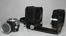 Leica Leitz M Mount Visoflex & Bellows Unit & Hood Slide copy Marco close up set