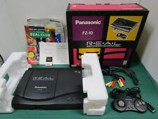 Panasonic 3DO REAL Console System FZ-10. box, manual, control pad etc. JP. 00171