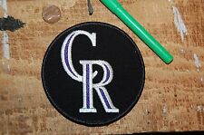"Colorado Rockies 4"" Cap Logo 1993-Present Patch Baseball"
