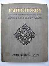EMBROIDERY edited by Mrs A. CHRISTIE - 1909