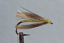 10 x Mouche de peche Sèche Peute H10/12/14/16 lot truite dry fly trout fishing