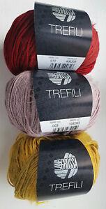 Lana Grossa TREFILI, verschiedene Farben siehe Beschreibung zum SONDERPREIS