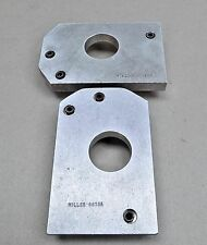 2 Good Used Miller Tool 6618A Output Shaft Rear Bearing Cone Installer Plates