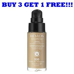 Revlon Colorstay Foundation 30ml For Combination/Oily Skin Natural Tan 330