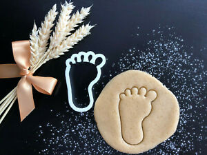 Baby Foot Cookie Cutter 02   Cake Decorating   UK Seller