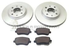 FRONT 2 BRAKE DISCS & PADS SET NEW FOR SUZUKI SWIFT 2005-2011 1.3 1.5 DDiS