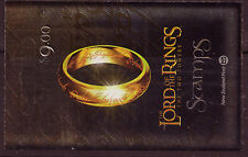"""NEW ZEALAND 2002 LORD OF THE RINGS """"THE TWIN TOWERS""""  BOOKLET"""
