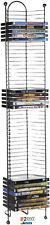 Dvd Tower Storage Media Rack Shelf Stand Organizer Multimedia Holder BluRay New.