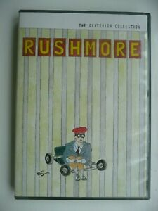Rushmore (DVD 1999) Wes Anderson, Criterion Collection #65, US import (Region 1)