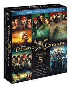 Pirati dei Caraibi. La Collezione Completa [Cofanetto / 5 Blu Ray]