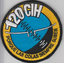 PATCH  ALCANTARILLA AFB 120tH HELICOPTER COURSE CIH VEL BACK  PARCHE