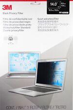 "3M Blickschutzfilter für 14"" Breitbild 16:9 Laptop Black Privacy Filter PF140W9B"