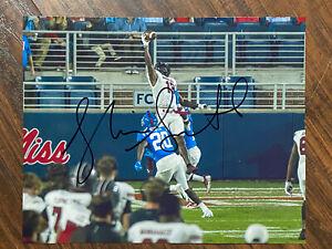 Shi Smith autographed south carolina football 8x10 photo Panthers 2021 signed