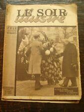 Le Soir Illustré - La fin du IIIe Reich - Annie Ducaux -Ballets Russe 22/11/1945