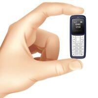Mini Small GSM Mobile Phone Dialer BM30 CellPhone Earphone Headset RED/BLACK