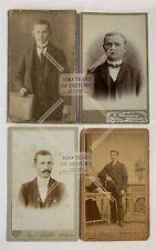 Orig. CDV Kabinettfoto Porträt Portrait Jungs Junge Mädchen Dame Männer ca 1895