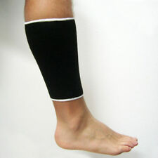 DELUXE CALF SLEEVE SUPPORT COMPRESSION SOCKS WARMTH SHIN SPLINT SPORT BAND WRAP
