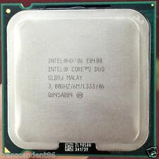 Intel SLB9J Core 2 Duo E8400 3.00 GHz 6MB 1333MHz Socket LGA775 CPU Processor