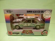 BBURAGO 0173 BMW 635 CSi GR.A - ENNY No 1 - WHITE 1:24 - GOOD CONDITION IN BOX