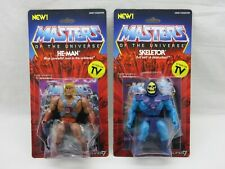 MOTUC,MOTU,HE-MAN & SKELETOR,SUPER 7,MASTERS OF UNIVERSE,Sealed,MOC